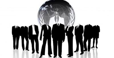 Anonymous, Hackers, grupo mundial