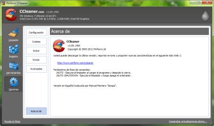 Ccleaner, Limpia Registro, PC