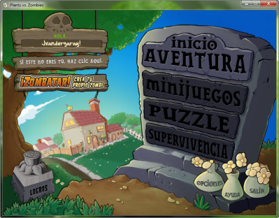 Plants vs Zombies, Juego PC, Zombies