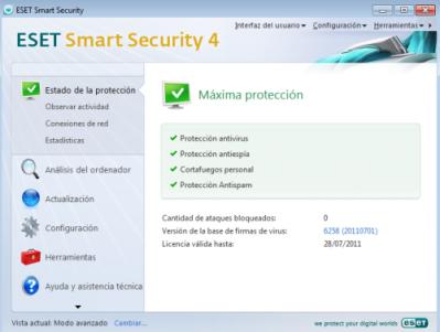 Antivirus, Antispyware, Antispam, Firewall